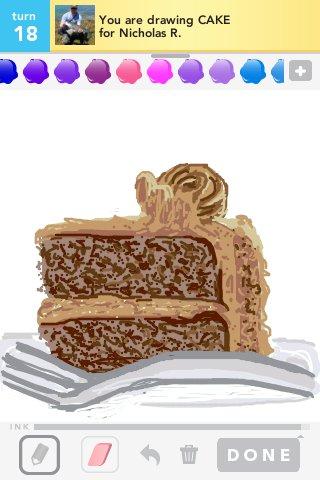 320x480 Cake Drawings