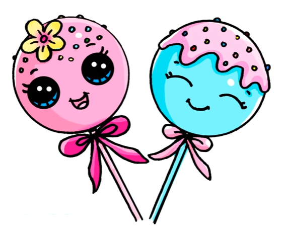566x469 Cake Pops Artdrawings Cake Pop, Cake And Kawaii