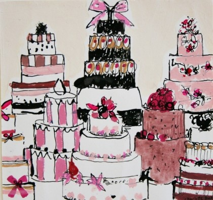 420x395 48 Best Cake Drawings Images On Cupcake Art, Petit