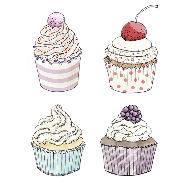 600x600 Sweet Cake Drawings On Behance Art Sweet