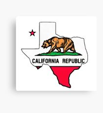 210x230 California Flag Drawing Canvas Prints Redbubble