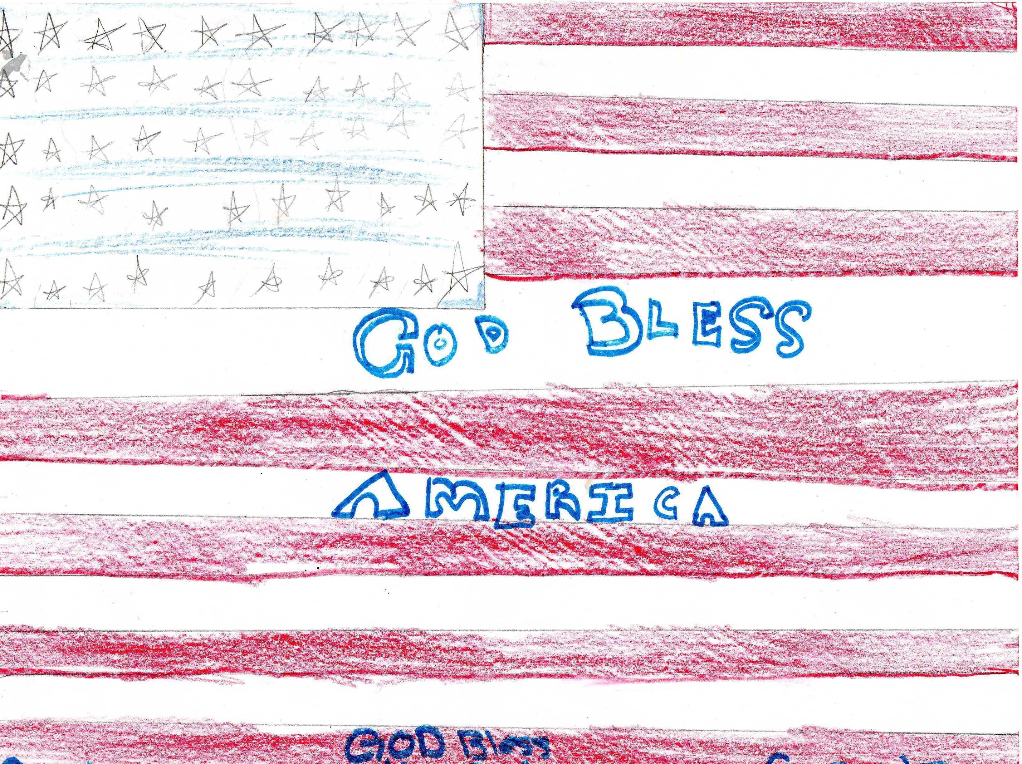 3275x2448 Teacher Deems American Flag