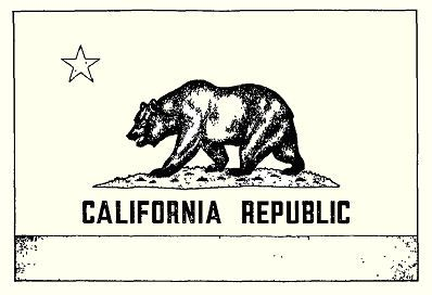398x272 California Seal Drawing This Shall Be Theficial State Flag