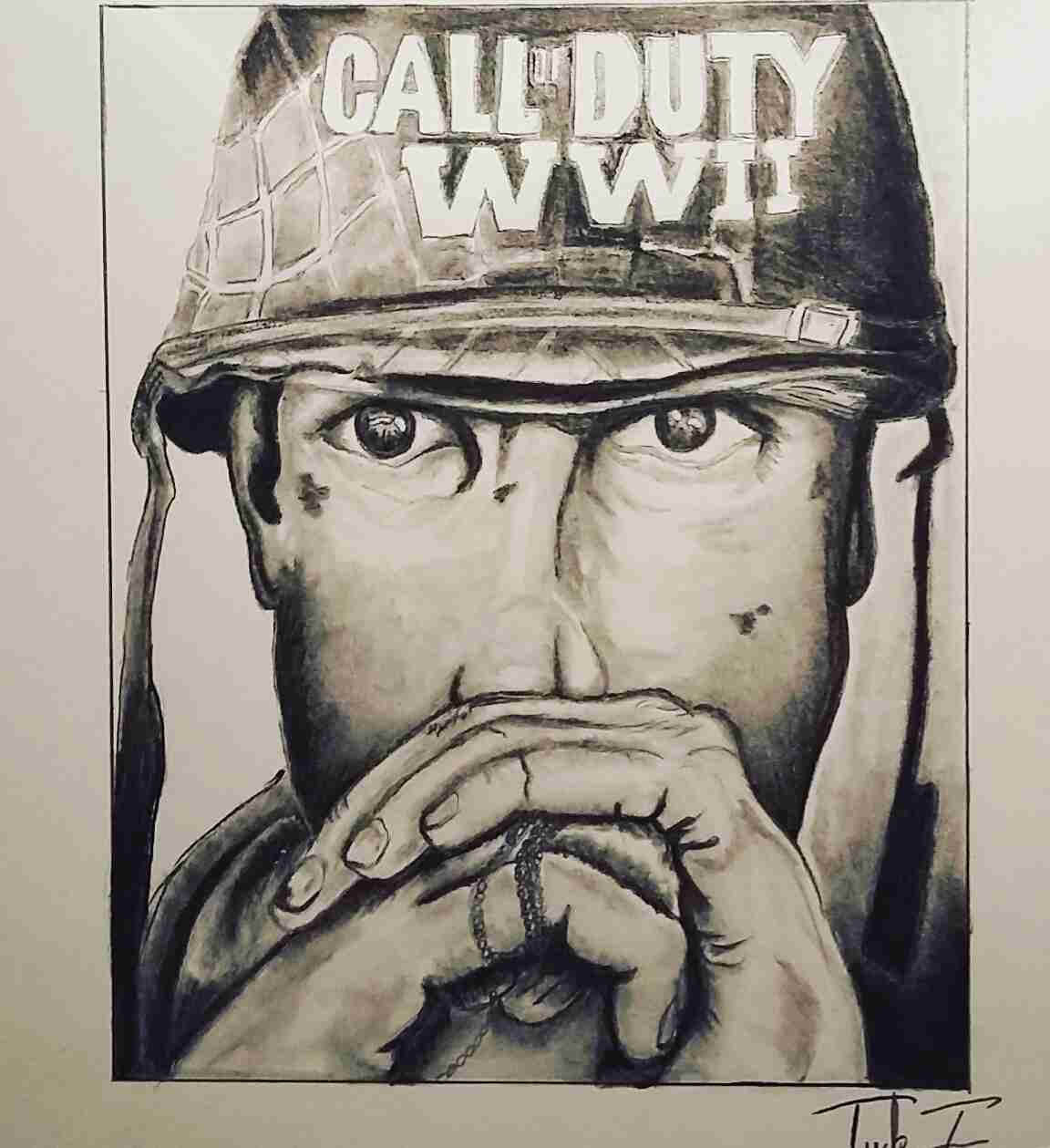 1152x1259 Call Of Duty Drawings Olegratiy