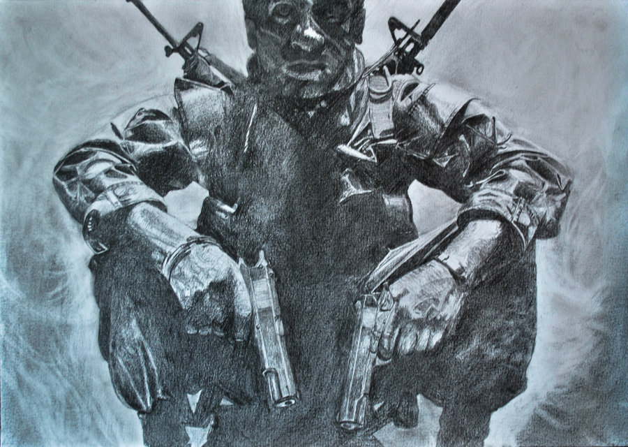 900x640 Call Of Duty Black Ops Drawing By Swaal