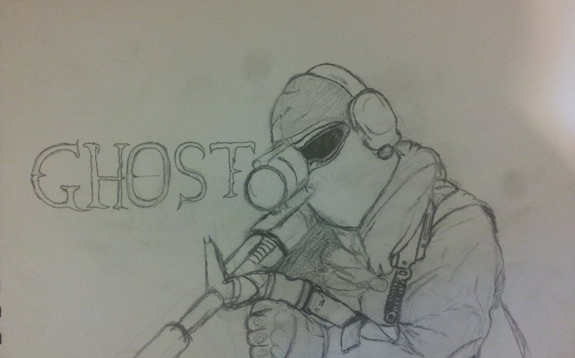 1133x705 Ghost From Call Of Duty By 1v1 Ace