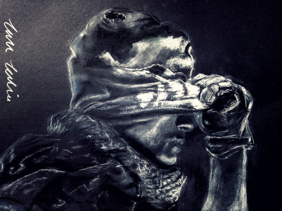 900x673 Call Of Duty Ghosts Drawing With Chalk By Jadejolie