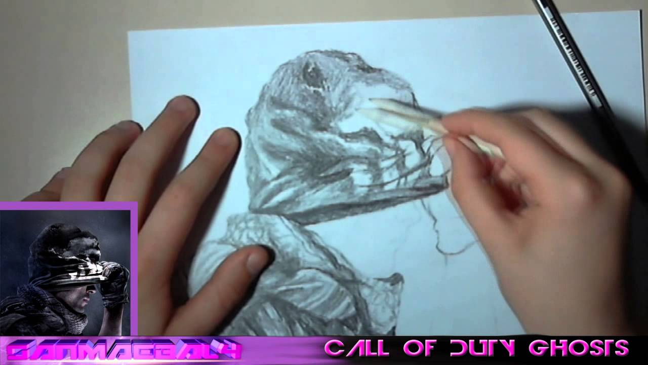 1280x720 Call Of Duty Ghosts Speed Drawing