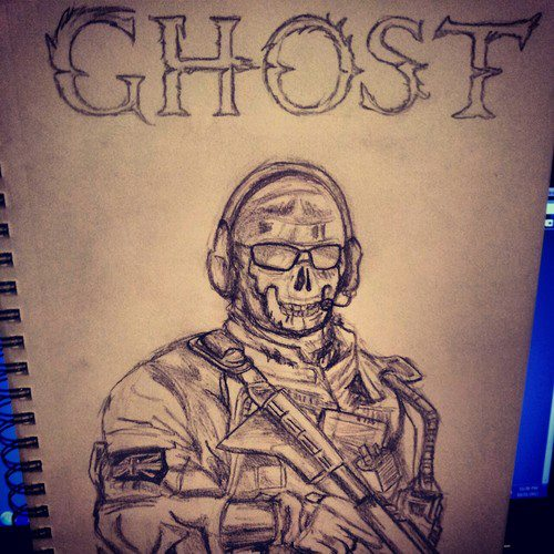 500x500 Ghost Call Of Duty By Phoenixx6