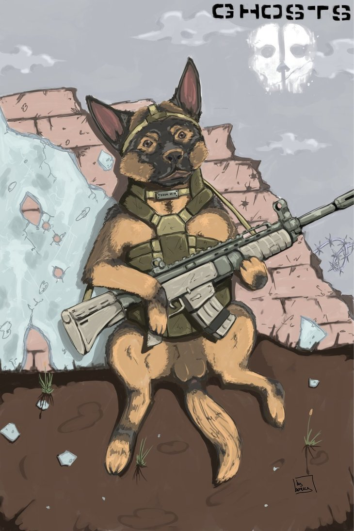 730x1095 Dog From Cod Ghosts By Bonuschita