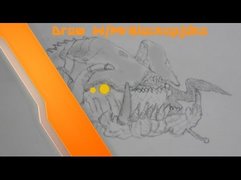 480x360 Ep.4 How To Draw Hunter Call Of Duty Ghost Extinction