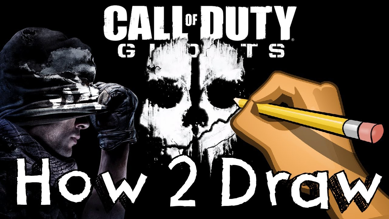 1280x720 How 2 Draw Call Of Duty Ghosts Logo