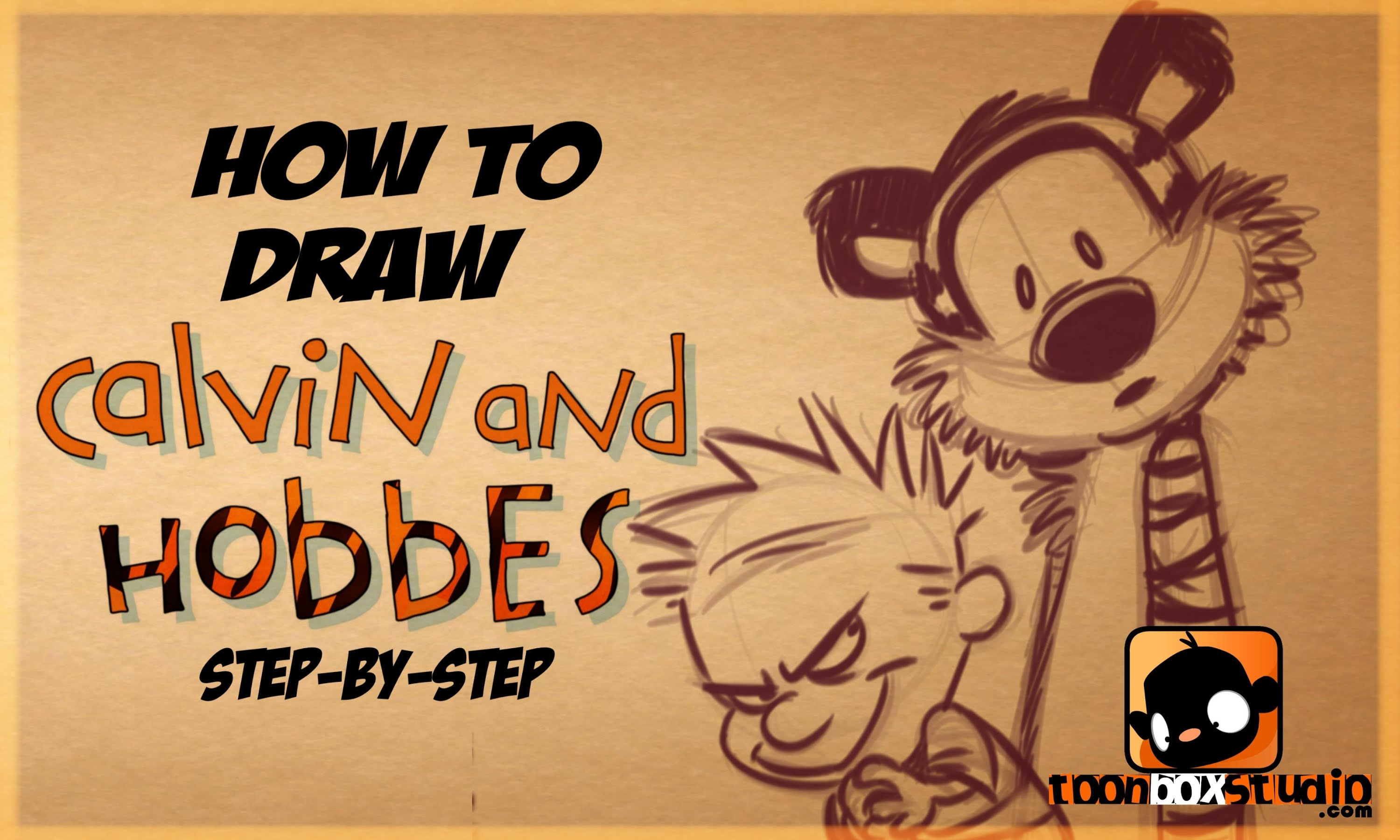 Calvin And Hobbes Drawing at GetDrawings.com | Free for personal use ...