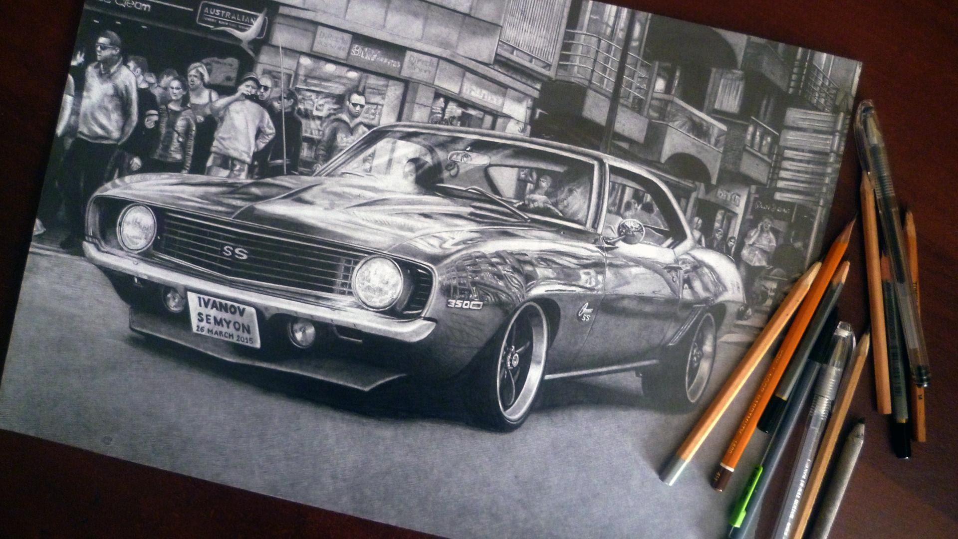 1920x1081 Chevrolet Camaro Ss (1969)