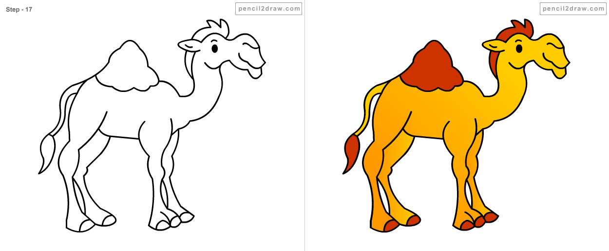 Camel Drawing For Kids at GetDrawings com | Free for