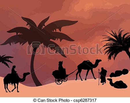 Line Drawing Of Desert Animals : Camel in desert drawing at getdrawings.com free for personal use