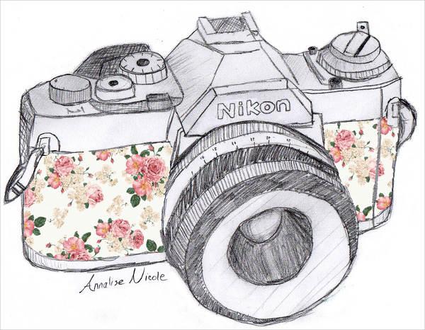 600x466 Camera Drawings