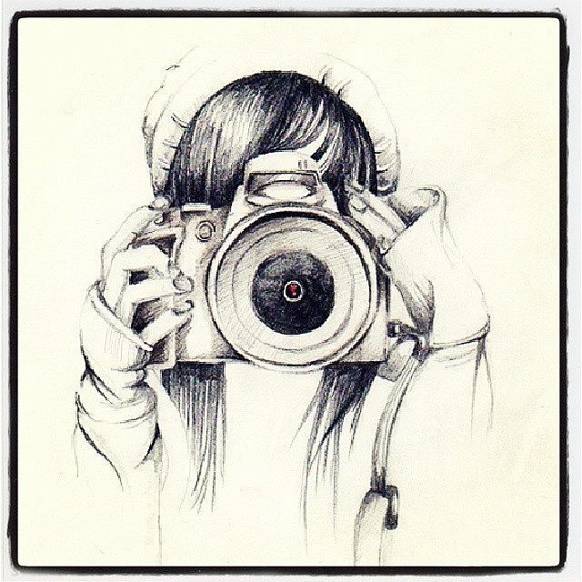 640x640 Camera Drawing