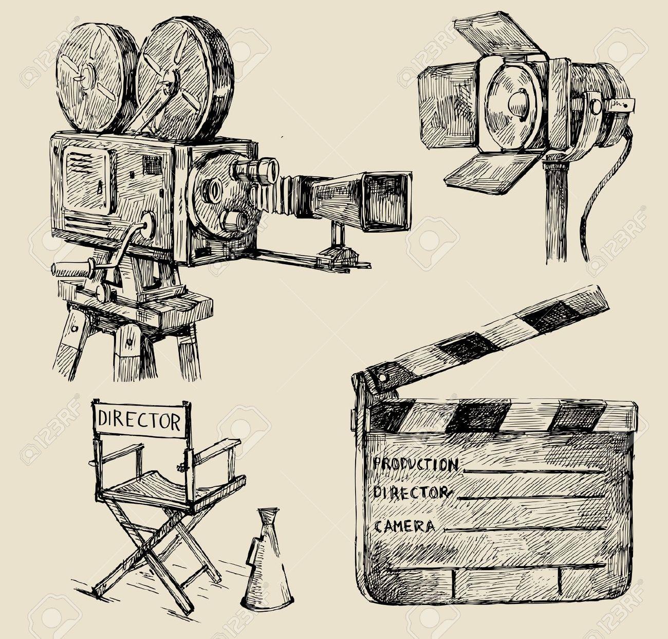 1300x1243 Film Camera Illustration