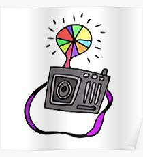 210x230 Camera Flash Drawing Posters Redbubble