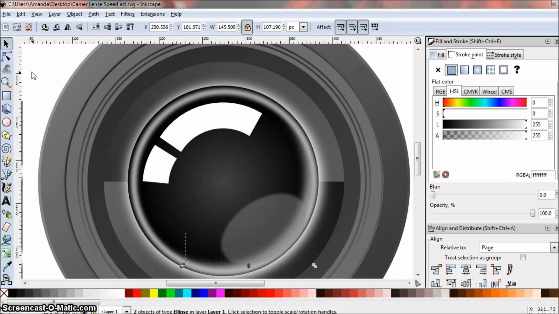 1920x1080 Speed Art Realistic Camera Lens