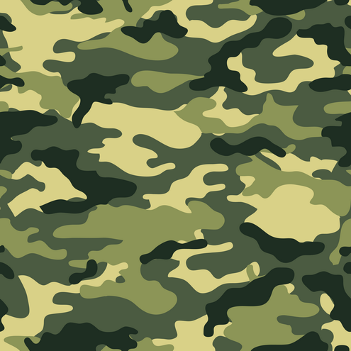 495x495 Camouflage Seamless Background Vector Camouflage, Seamless