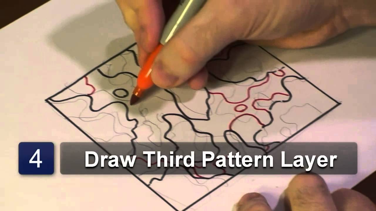 1280x720 How To Draw Camouflage Patterns