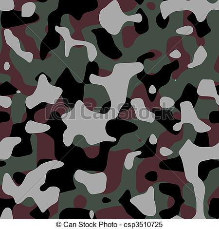450x470 Seamless Camo Pattern. Seamless Background Of A Camouflage
