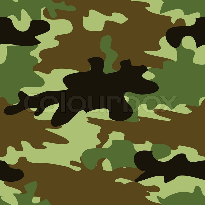 800x800 Seamless Camouflage Pattern Stock Vector Colourbox