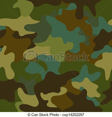 450x470 Seamless Camouflage Pattern. Vector Summer Camouflage Eps