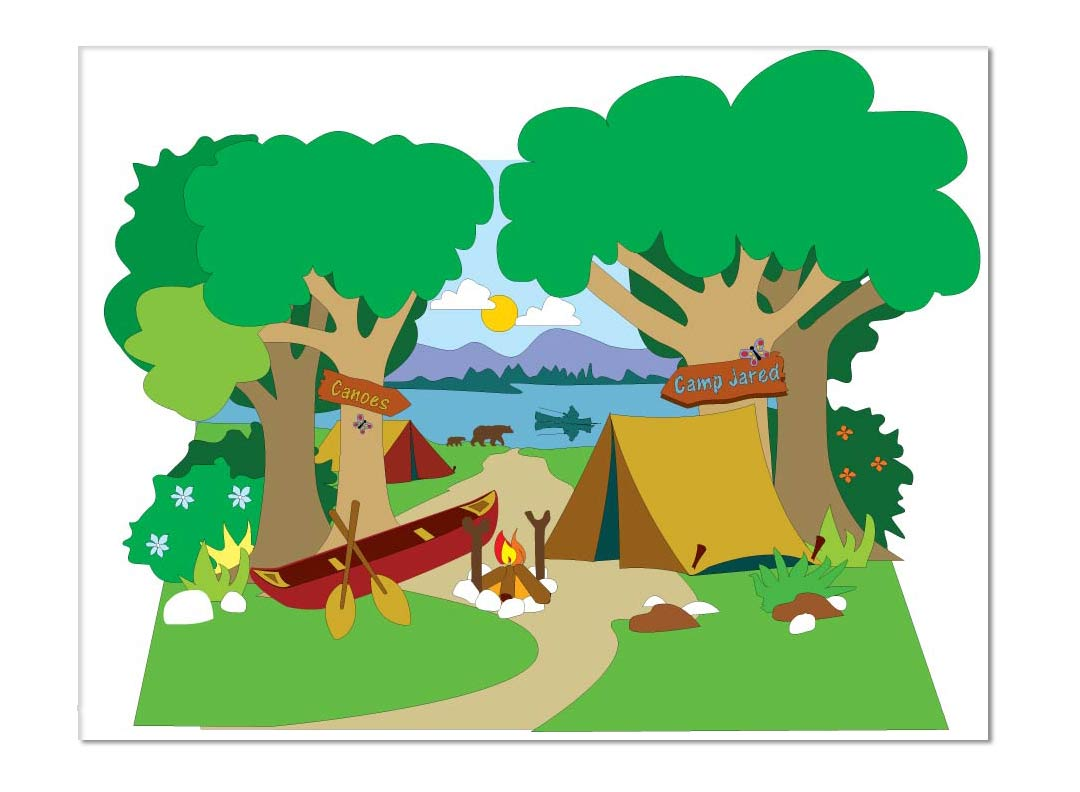 Camping Drawing at GetDrawings.com | Free for personal use Camping ...