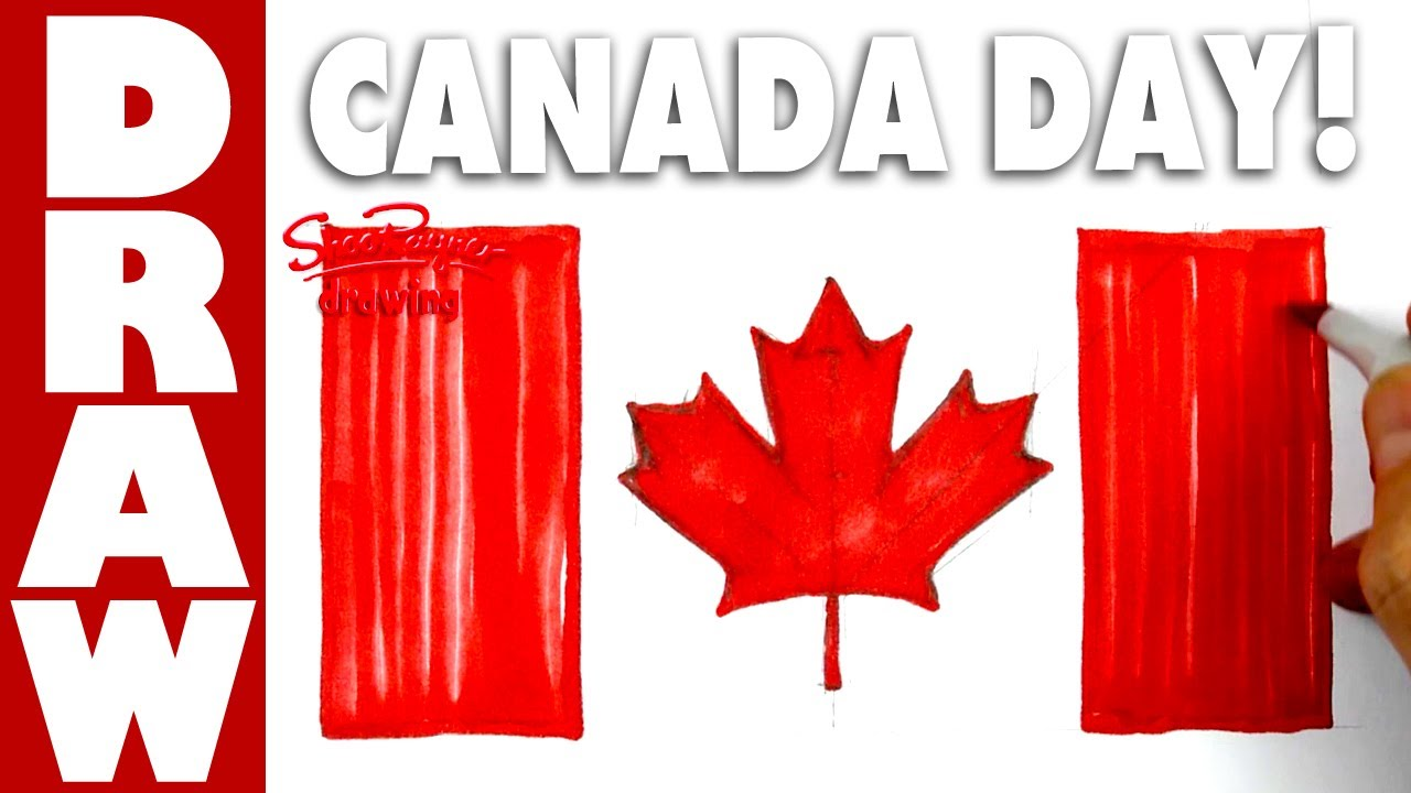 1280x720 How To Draw The Flag Of Canada For Canada Day!
