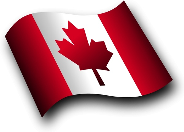 600x433 Canadian Flag 3 Free Vector In Open Office Drawing Svg ( Svg