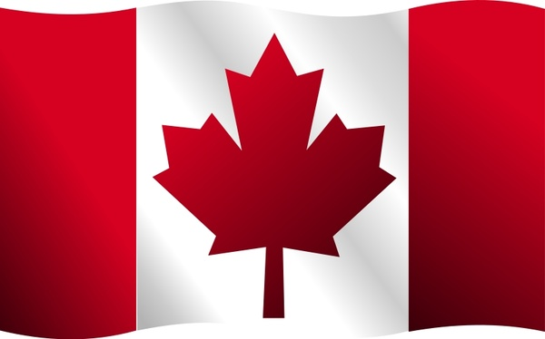 600x374 Canadian Flag Free Vector In Open Office Drawing Svg ( Svg