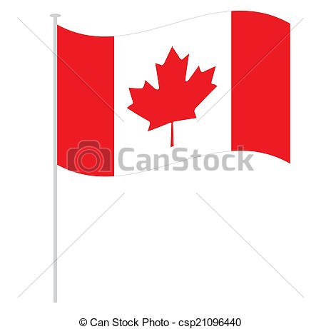 450x461 Canadian Flag Drawing