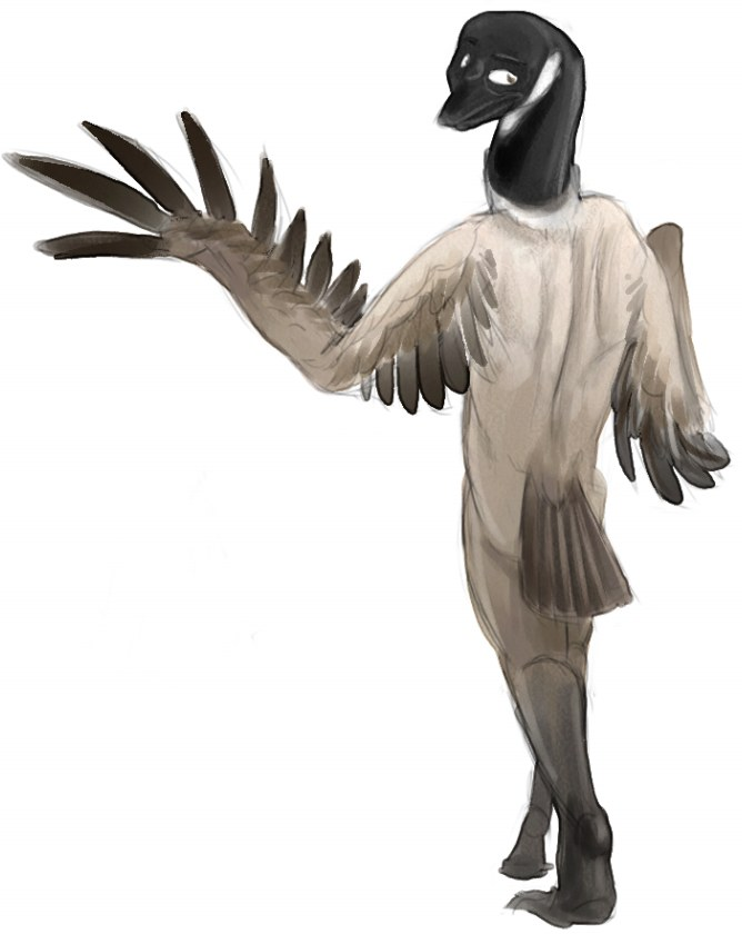668x840 Anthro Canada Goose By Crewwolf