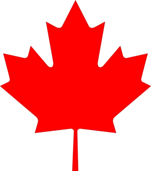528x596 Flag Of Canada Leaf Clip Art Free Vector In Open Office Drawing
