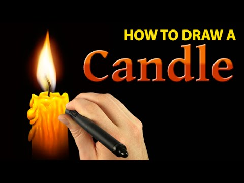 480x360 How To Draw A Candle With Corel Painter [Draw This