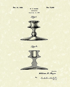 240x300 Candle Holder Drawings Fine Art America