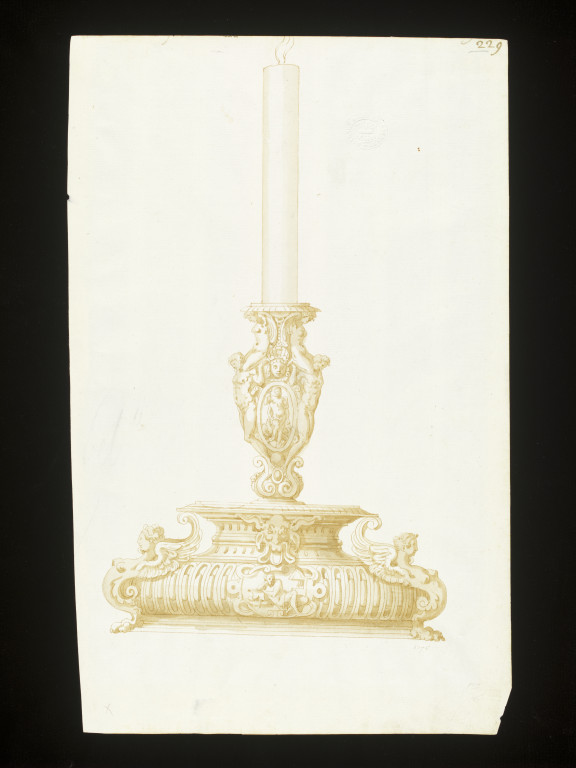 576x768 Design For Candlestick (Drawing) Vampa Search The Collections