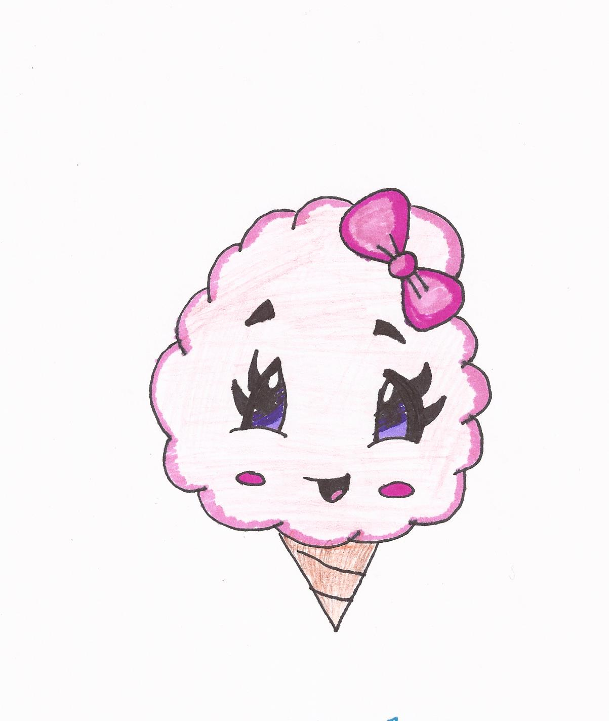 1203x1424 Cotton Candy Drawing Cartoon Cotton Candy Drawing