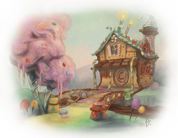600x464 Candy House