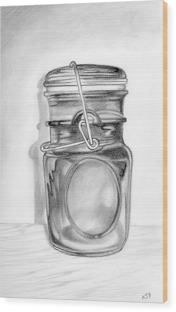 348x618 Canning Jar Drawing By Mary Bedy