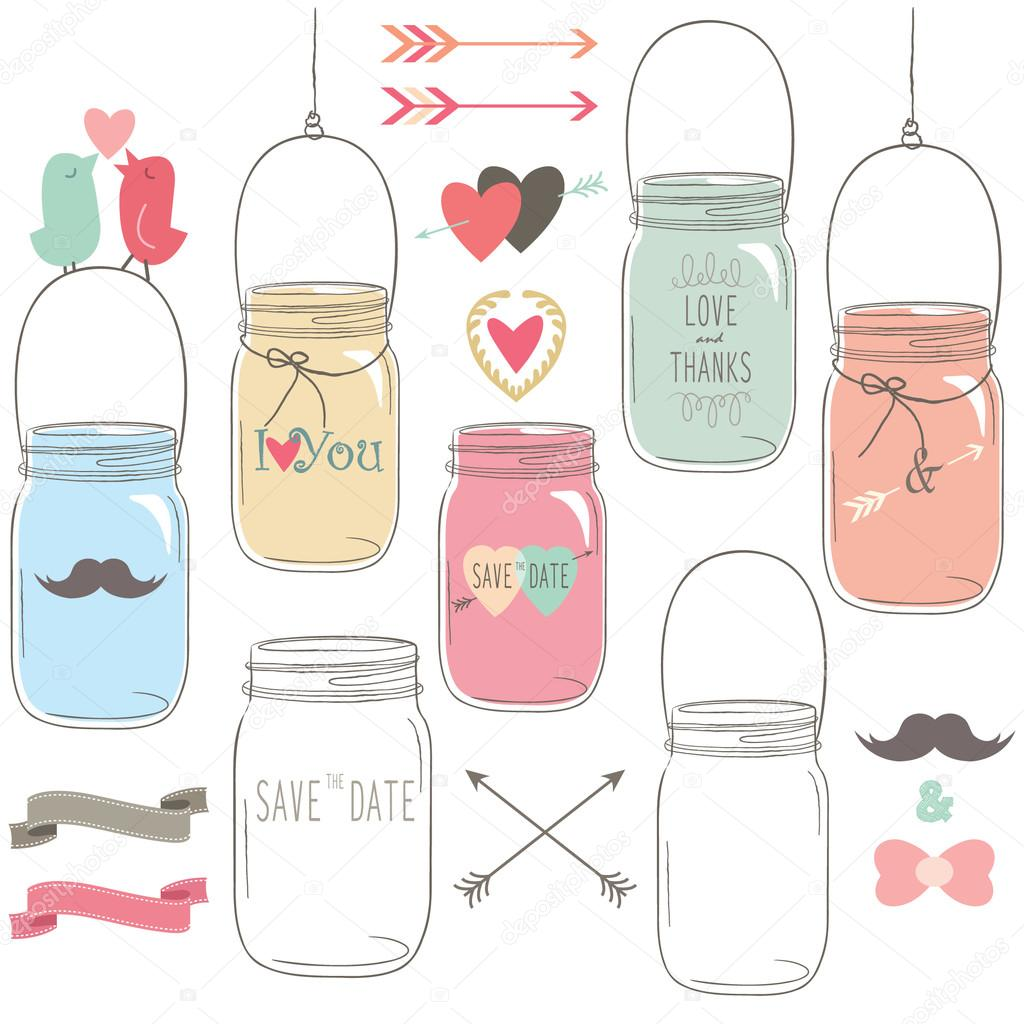 Canning Jar Drawing at GetDrawings.com | Free for personal use ...