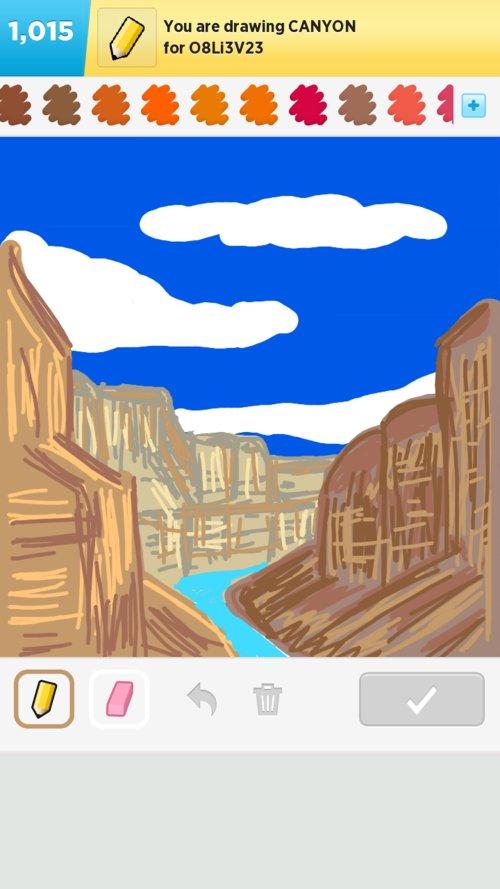 500x889 Canyon Drawings