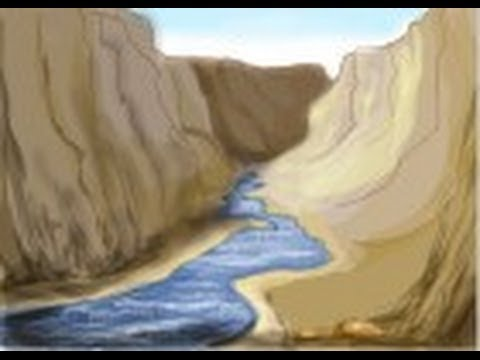480x360 How To Draw The Grand Canyon