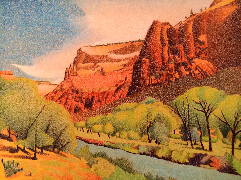 1500x1123 Impression Evergreen Zion Canyon