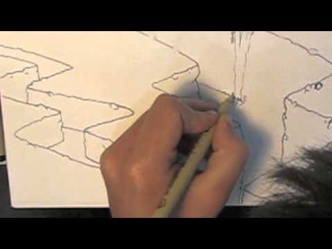 480x360 How To Draw A Canyon 2.m4v