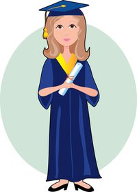 200x279 How To Draw A Graduation Gown Ehow