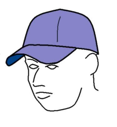 375x408 Filebaseball Cap Line Drawing.png